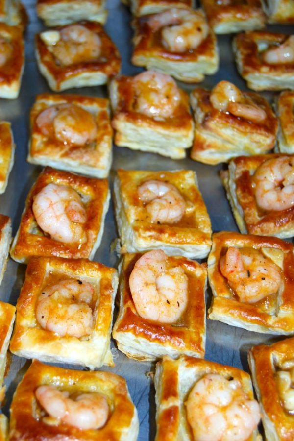 Puff Pastry Shrimp